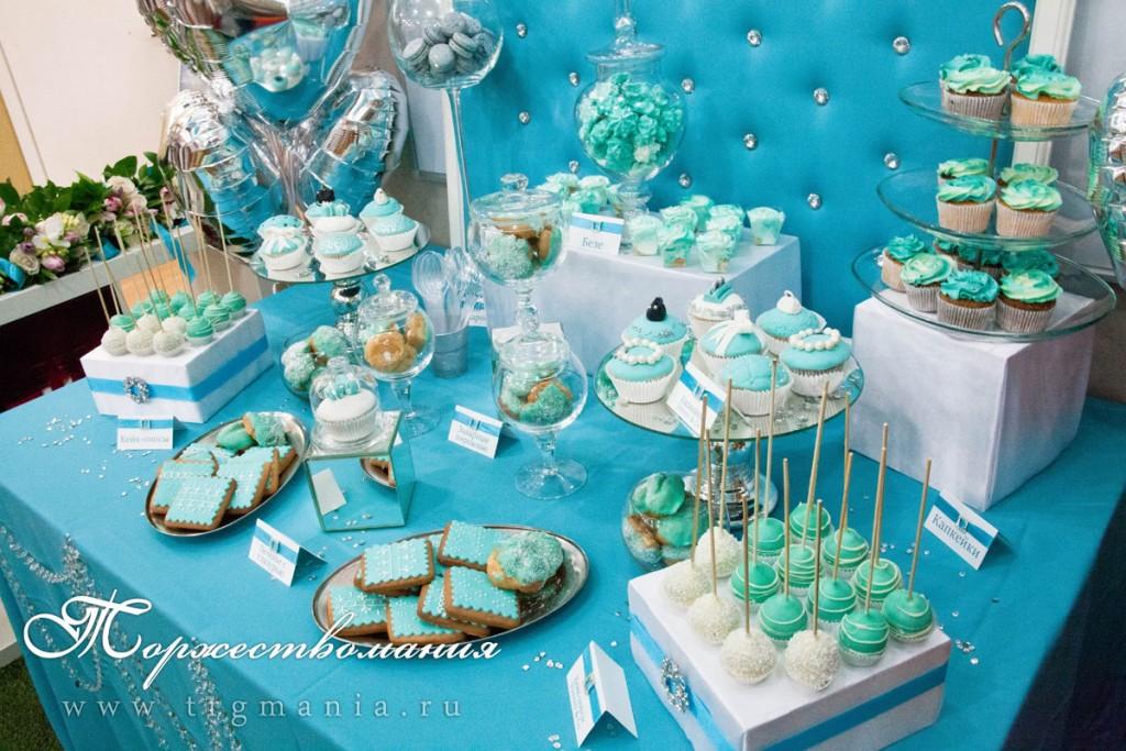 Кенди бар свадьба своими руками голубые тона 34