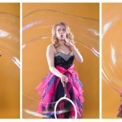 Третий пример шоу мыльных пузырей Екатерины Тихоновой Showtime