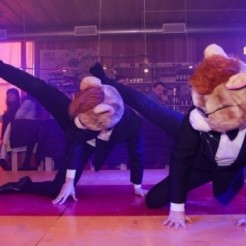 Третий пример танцевального шоу Show Group Hamsters