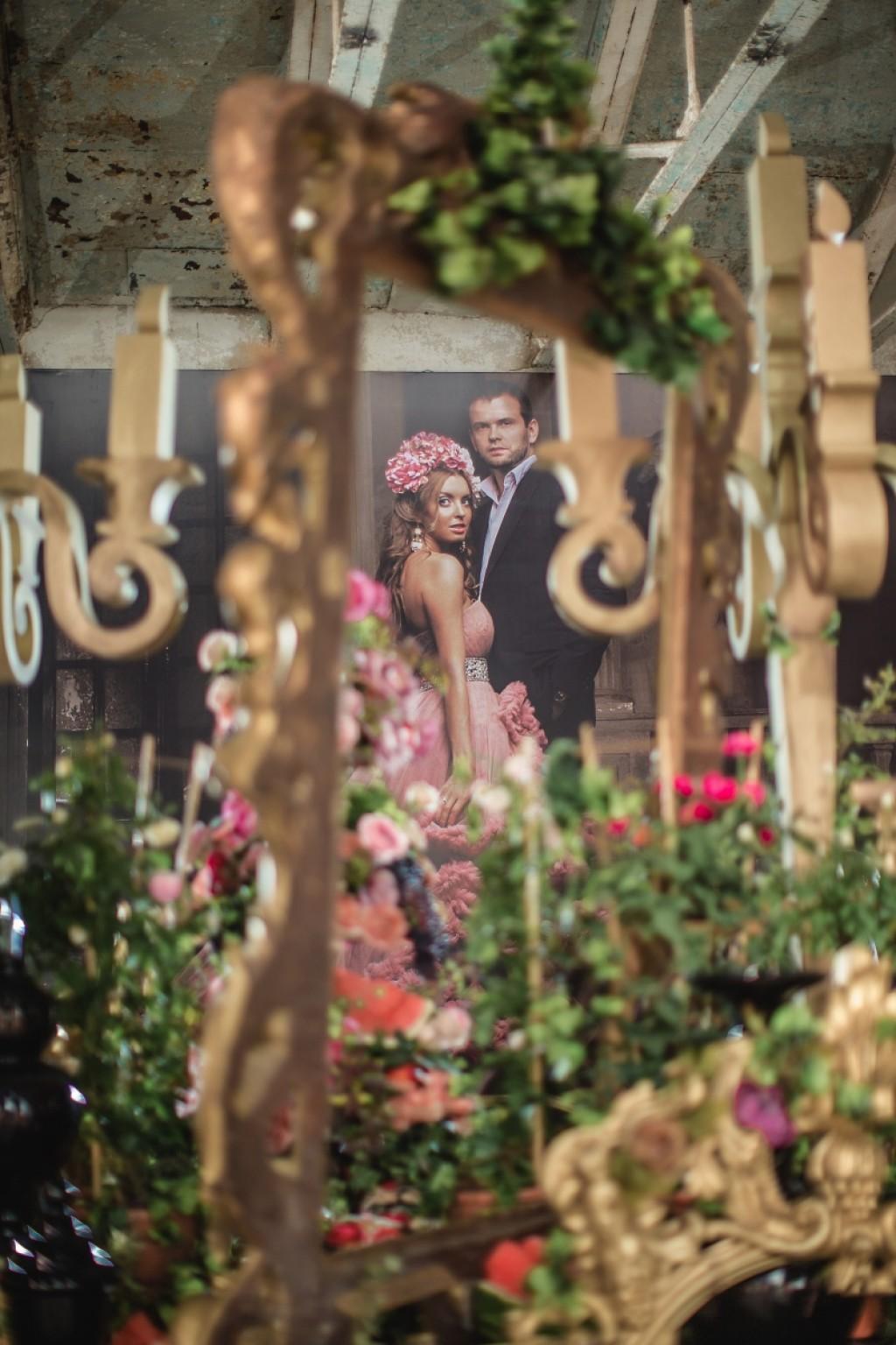 канделябры на свадьбе