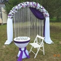 Свадебный декор на арке