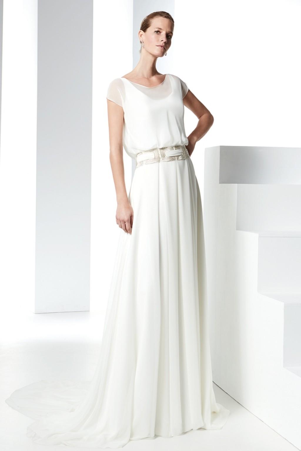свадебное платье силуэта А