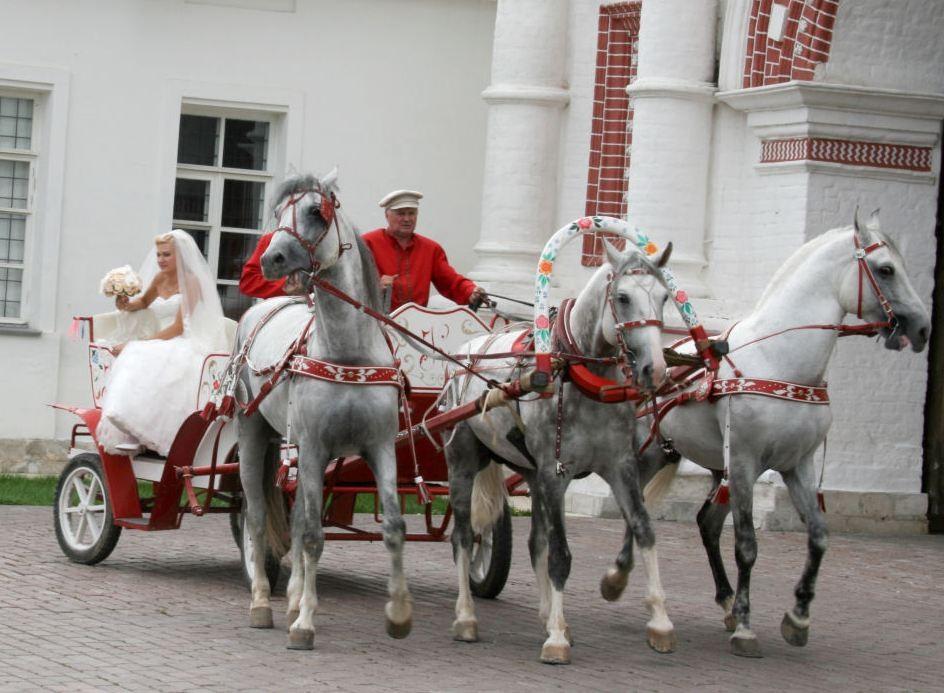 свадебная тройка