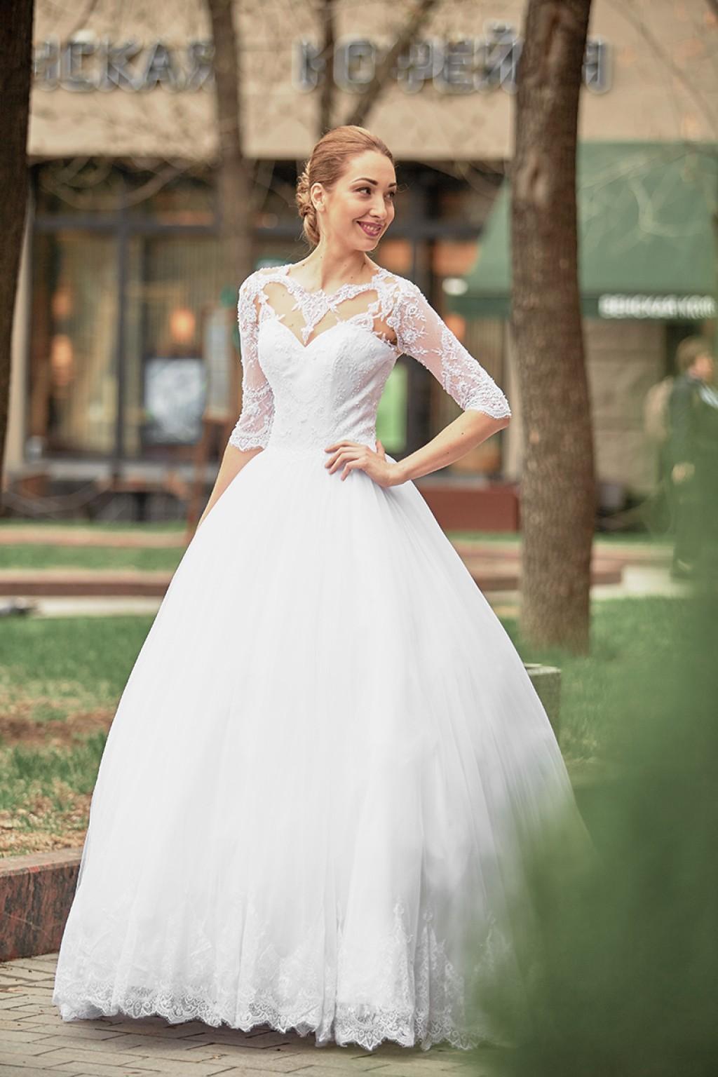 пучок на свадьбу