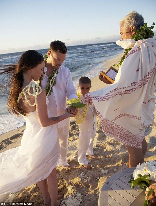 свадьба Меган Фокс