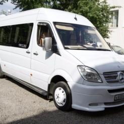 Первый пример автобуса на свадьбу Аренда авто