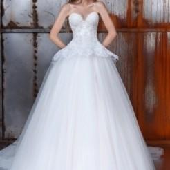 Пятый пример свадебного платья в салоне Kuraje