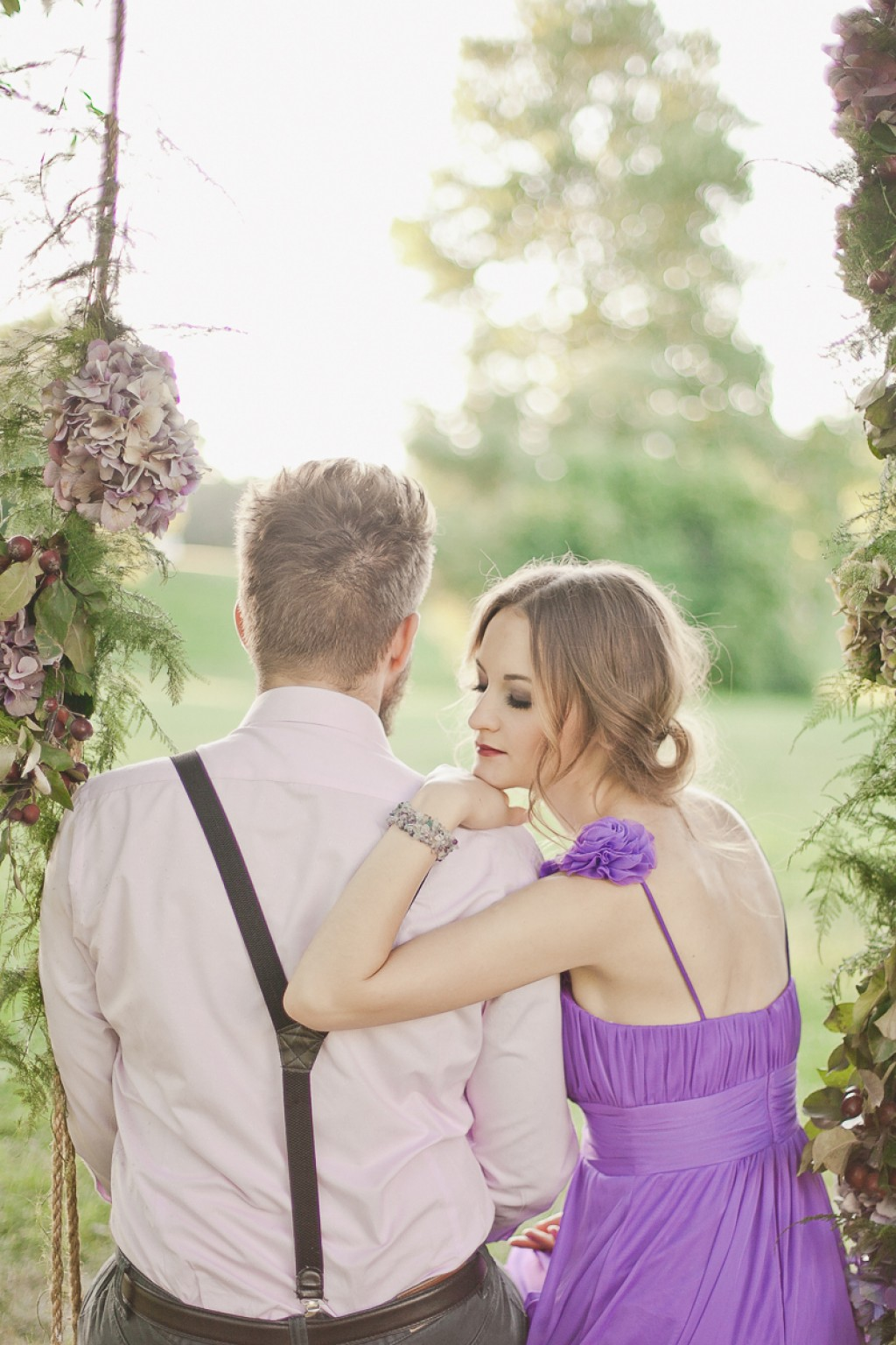 Лиловая love story