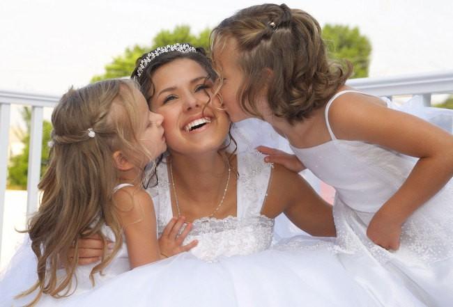 Ребенок и свадьба