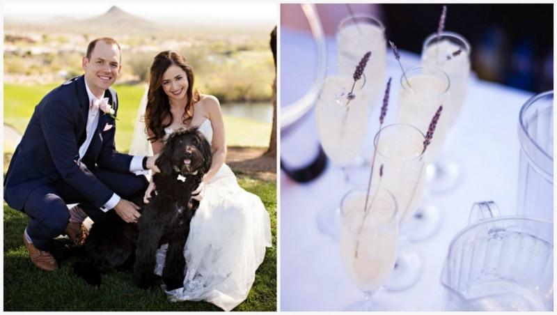 Бокальчики на свадьбе