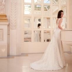 Второй пример свадебного платья от Мадам Вуаля
