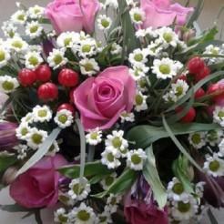 Первый пример букета невесты от Фабрики Цветов