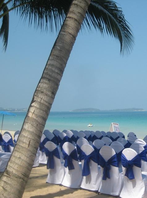 свадьба за границей пляж