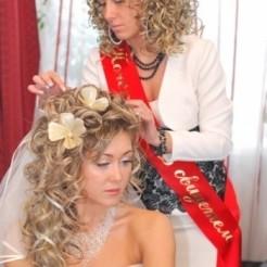 Первый пример работы свадебного визажиста Елены Бехтольд