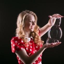 Пятый пример шоу мыльных пузырей Екатерины Тихоновой Showtime