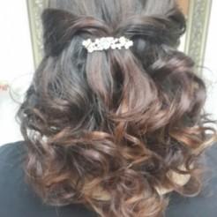 Четвертый пример свадебной прически от салона Лакнау