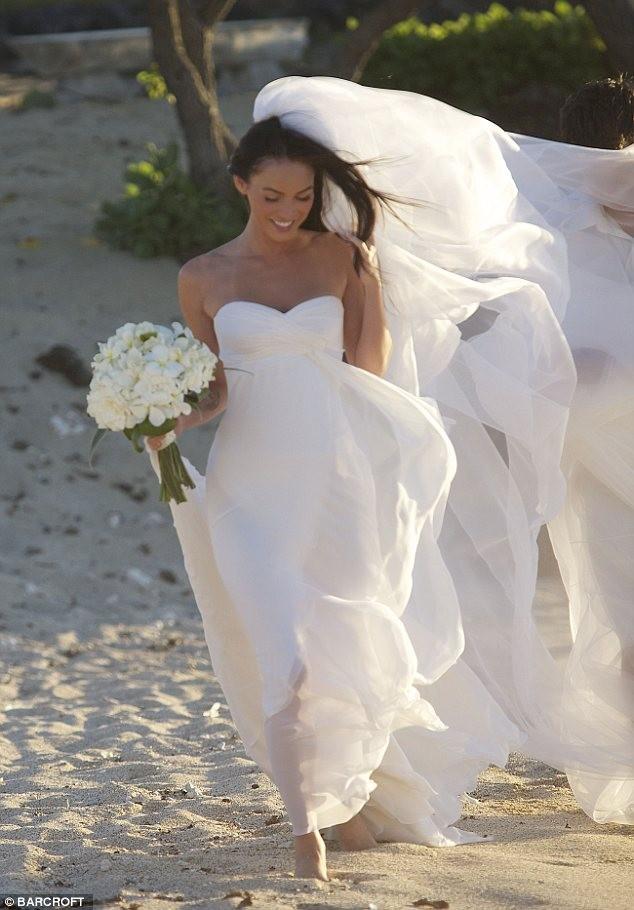 меган фокс невеста