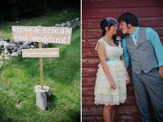 летняя свадьба фото