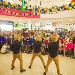 Второй пример танцевального шоу Show Group Hamsters