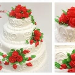 Третий пример свадебного торта