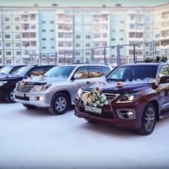 Пятый пример свадебного лимузина от VIP кортеж