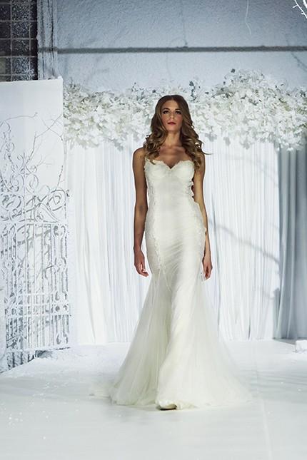 свадебное платье русалка фото