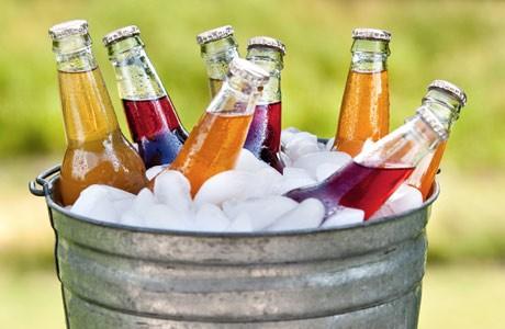 напитки                               на жаркой свадьбе