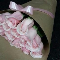 Второй пример букета невесты от Фабрики Цветов