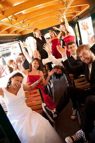свадебный трамвай