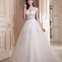 Третий пример свадебного платья от Мадам Вуаля