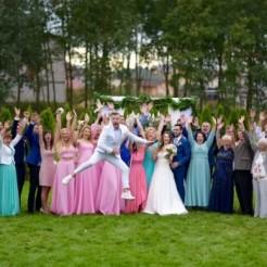 Организация свадьбы в розовых тонах