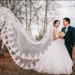 Второй пример платья в свадебном салоне ANNA