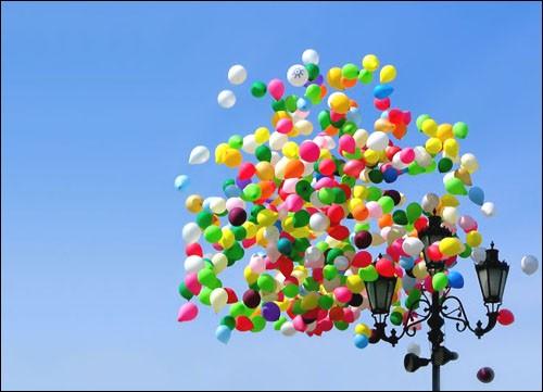 шарики в день всех влюбленных