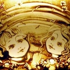 Пятый пример песочного шоу Марины Тарк