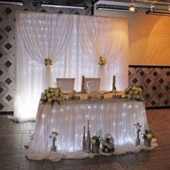 Первый пример оформления свадеб от Limokate