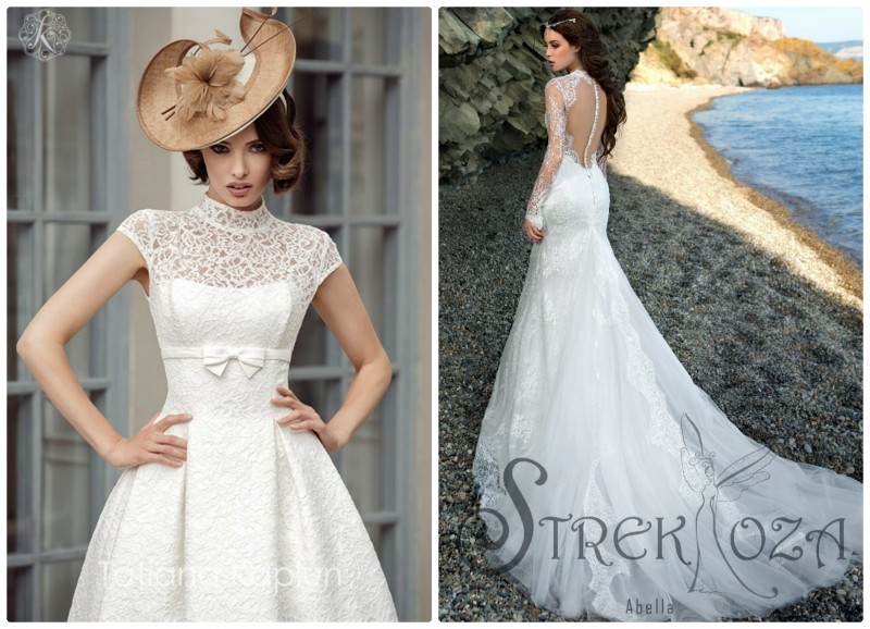 Свадебные платья Strek