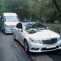 Пример арендной машины для свадьбы от Может Быть Комфорт