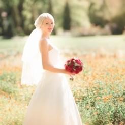 Великолепная фотография невесты