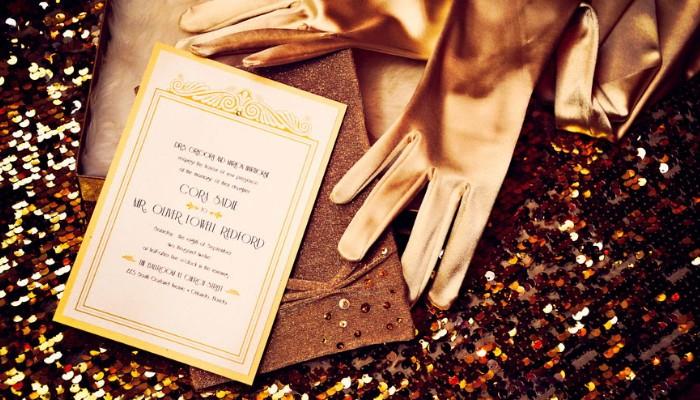 пригласительные на свадьбу в золотом                               стиле