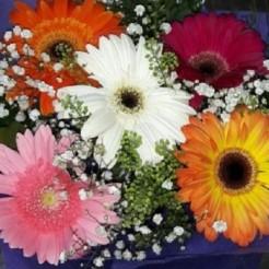 Четвертый пример букета невесты от Фабрики Цветов