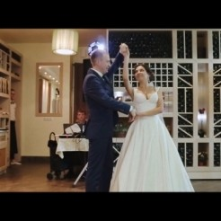 Второй пример работы свадебных хореографов