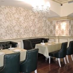 Интерьер зала в кафе Астерия