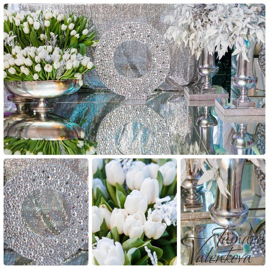 серебряная                               свадьба оформление