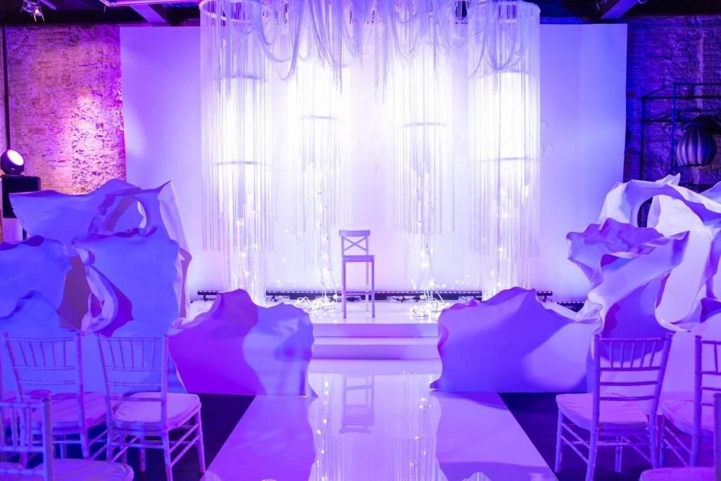белый свадебный декор