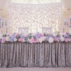 Праздничный стол на свадьбе