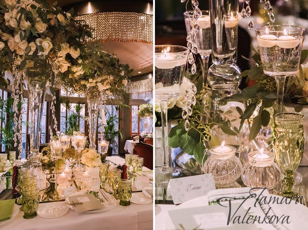 декор банкетного зала на свадьбу фото