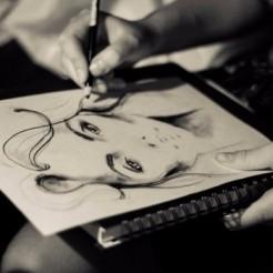 Шестой пример работы художника