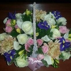 Третий пример букета невесты от Фабрики Цветов