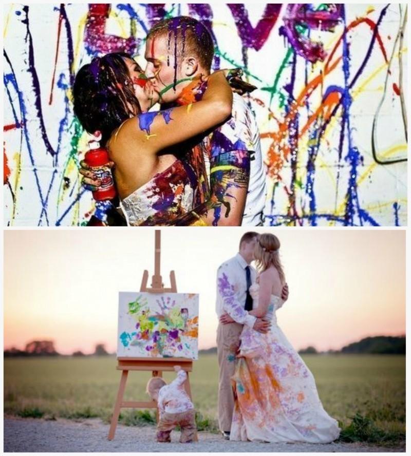 и Еще пример фото со свадьбы