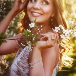 Третий пример макияжа/прически Ксении Лопиной